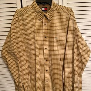 Tommy Hilfiger Button Down Men's DressShirt SizeXL